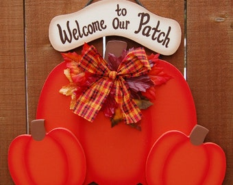 Fall Pumpkin Welcome