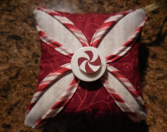 Peppermint Candy Swirl Ornament