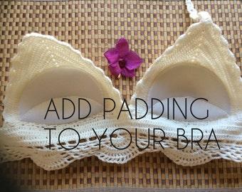 Add Padding to your Top/ Bikini top