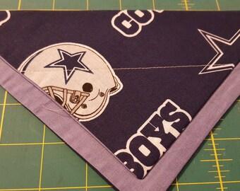 Dallas Cowboys No-Tie Pet Bandana