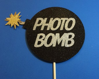 Photo Booth Props- Glitter Photo Bomb Prop