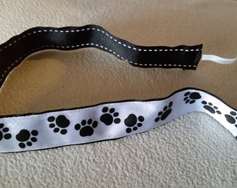 Homemade paws headband