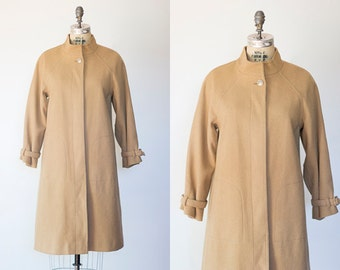 THE WHARF coat | Vintage 1970s wool trench coat by Lilli Ann San Francisco