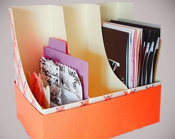 Storage boxes and holder template