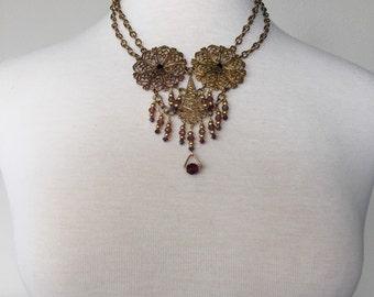 Sale Vintage Festoon Necklace