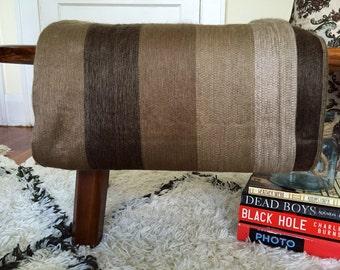 Brown Alpaca Throw Blanket
