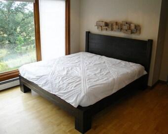 platform bed platform beds bed frame reclaimed wood rustic furniture