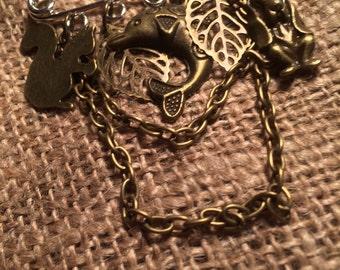 STEAMPUNK (Animal Love) Kilt Pin