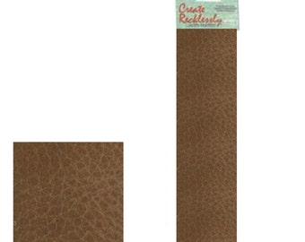 "Leather 10"" x 2"" Strip, 1 Piece, Brown For create Jewelry Wa 540-101"