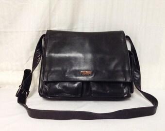 Free Ship Perlina Purse Black Shoulder Bag Messenger Bag style