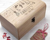 Personalised Babys First Christmas Eve Chest  S  Christmas Eve Box  Childrens Christmas  Night Before Christmas Box  FREE UK DELIVERY