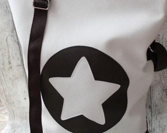Fold over handbag