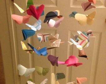 Origami Butterfly Chandelier