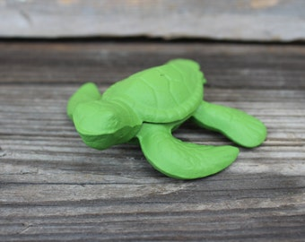 Beach Decor - Cast Iron Turtle - Shabby Chic - Turtle - Beach House - Home Decor - Paper Weight