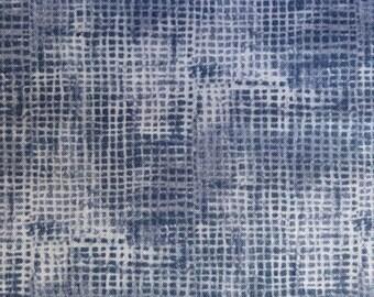 Half Yard of Fabric - Indigo Screen Print