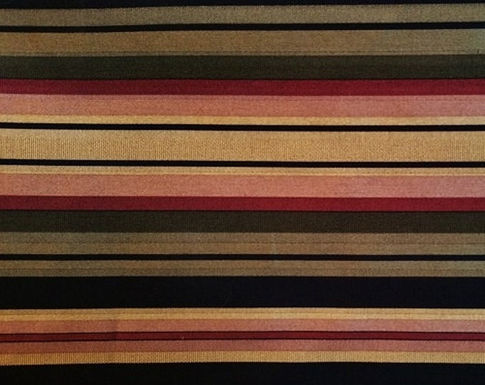 Swavelle Mill Creek - Satin Weave Stripes - Jacquard Fabric