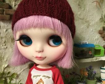 Blythe Knit Lace Beanie