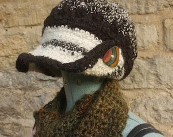 Sally-Ann Hat - Hand Spun Wool