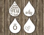 Vinyl Decal Custom Oil Drops Sticker