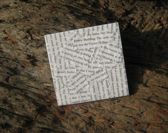 The Hunger Games (Suzanne Collins) Book Page Coasters