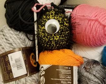 Closet Monster Stitch Amigurumi Plushie