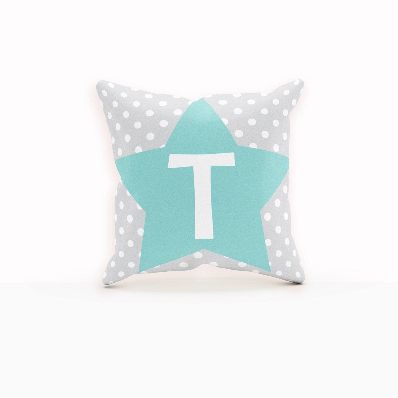 Throw Pillows With Stars : Teal Pillow Star Pillow Custom Pillow Case Throw Pillow