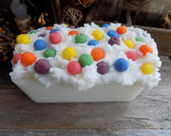 Sliceable Grubby Wax Loaf Fruit Loops Scented