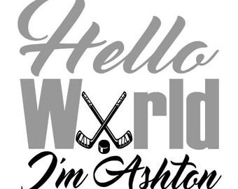 Baby hockey | Etsy