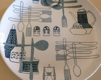 Fiesta plate by Barker Brothers