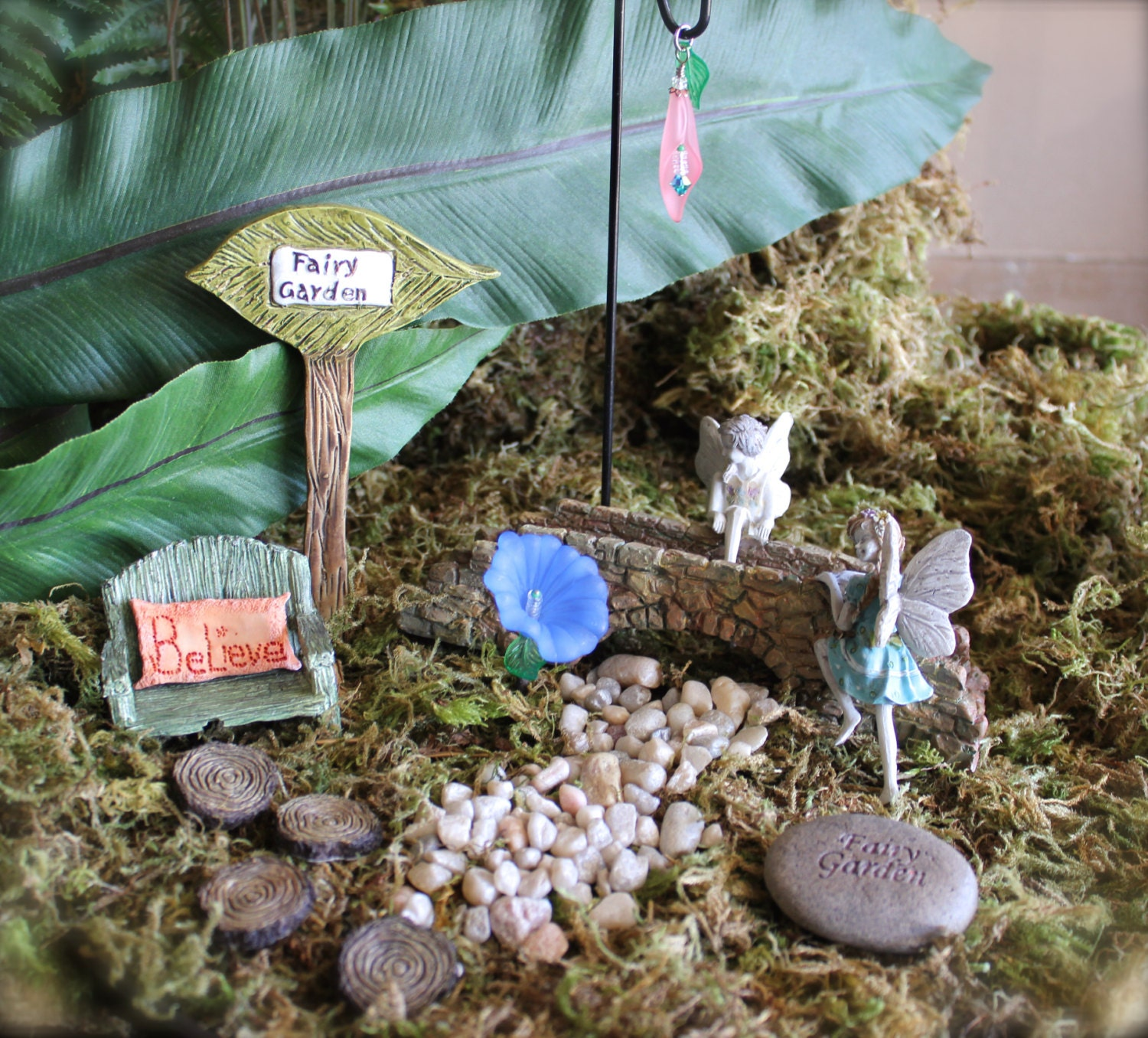 Fairy Garden Kit H by ImOwlOutofLove on Etsy