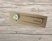 Canberra, Australia map bookmark: paper clip style page marker made with an original map. Gift idea for book lovers, best friend, boyfriend.