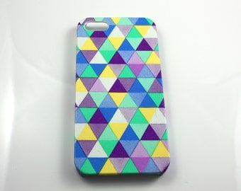 iPhone 5/5s Hard Shell Case Skin Cover Geometric