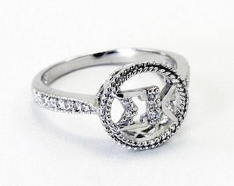 Sigma Kappa Circle Ring