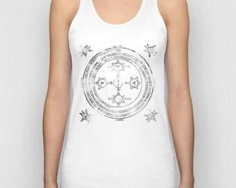 Ornament Magic Circle Women Tank Top / Women T-Shirt / Cool Quote Tees / Shirt For Women / Women's T Shirt