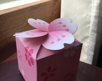 Cherry Blossom Paper Box