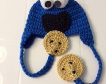Cookie Monster Hat - Infant