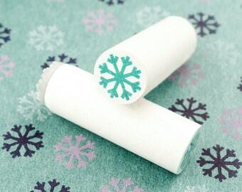 Snowflake - mini stamps/Lüttje stamp Ø 1,1 cm