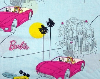 Barbie Dream House Fabric From VIP By the Yard