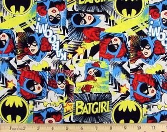 DC Comics Batgirl  Girl Power 2 Fabric From Camelot