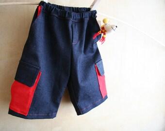 Boys shorts, boy jeans pants, superheroes skylanders boys trousers, toddler boys clothing