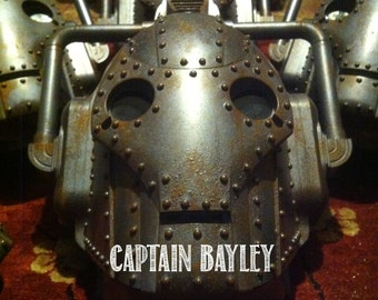 Steampunk Cyberman Mask