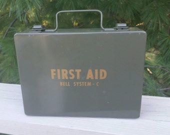 First Aid Kit Bell System C