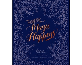 Magic Happens Writing Pad