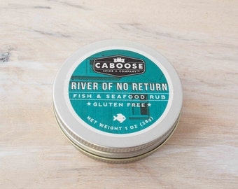 River of No Return FIsh & Seafood Rub - Small Tin (1 oz)