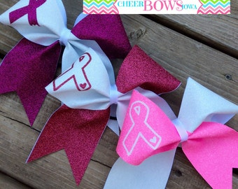 BREAST CANCER AWARENESS Bow - 2 color