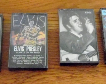 Elvis Presley Cassette Tapes.  Your choice from:  Elvis Presley, Always on My Mind, Elvis, or How Great Thou Art.
