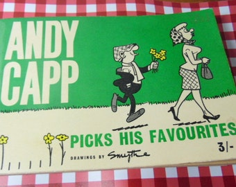 ANDY CAPP, Picks his Favorites, by Smythe.