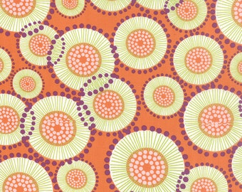 1/2 Yard - For You - Poppy Orange - Zen Chic - Brigitte Heitland - Moda - Fabric Yardage - 1570 11