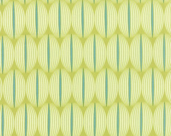 1/2 Yard - For You - Lined Up Apple - Zen Chic - Brigitte Heitland - Moda - Fabric Yardage - 1573 18