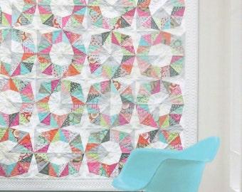 Octo Quilt Pattern - Zen Chic - Brigitte Heitland - OCQP - For You - Modern - Foundation Paper Piecing - Fat Eighth Friendly